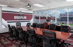 Football Conference Table University Of South Carolina Football Recruiting Conference Room