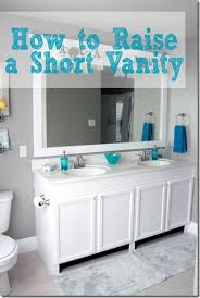 Adapt Vanity Furniture Style Bathroom Vanity Made From Stock Cabinets U2013 Part 1