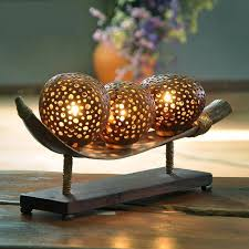 Coconut Shell Chandelier Coconut Shell Carved Decorative Bedside Decoration Creative