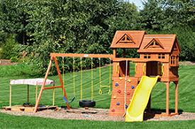 Cost To Build A Bar In Basement by 2017 Playground And Swing Set Installation Cost