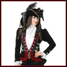 lady pirate coats jackets and vests deluxe theatrical quality