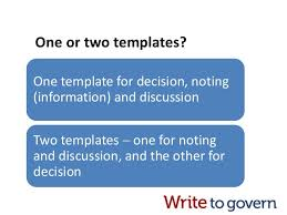 review your board paper templates