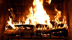 fireplace 4k crackling birchwood from fireplace for your home