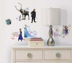 frozen wall stickers with glitter wall murals ireland frozen stickers www wallmurals ie disney frozen