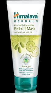 Masker Himalaya himalaya herbals almond cucumber peel mask