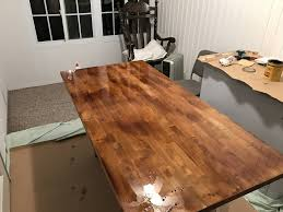 staining a table top fresh how to stain a table top 16425