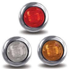 red led marker lights small round led marker lights big rig chrome shop semi truck
