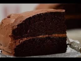simple chocolate cake recipe demonstration joyofbaking com youtube