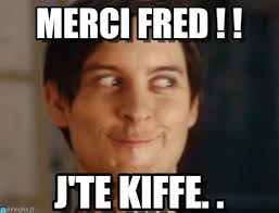 Fred Meme - merci fred spiderman peter parker meme on memegen