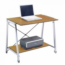 Ergonomic Laptop Desk Portable Workstation Movable Laptop Table Computer Workstation Mobile Cherry Wood