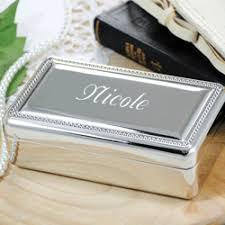silver keepsake box initial impressions engraving keepsake boxes