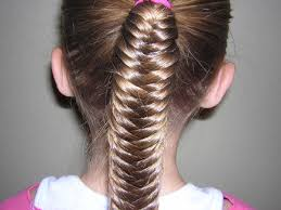 Toddler Hairstyles For Girls by Fishtail Braids For Girls Little Hairstyles Medium Hair Styles