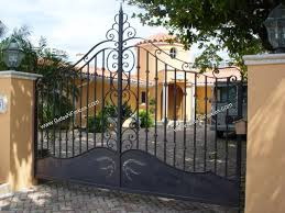 custom design driveway iron gate the iron gates the iron gates metal