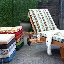 Patio Lounge Chair Cushions Striped Lounge Chair Cushions Blue Ticking Stripe Armchair Patio