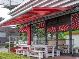 Industrial Awnings Canopies Commercial Retractable Awnings Cassette Awnings For Commercial Use
