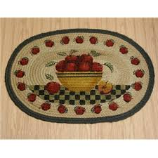 Apple Kitchen Rugs Apple Decorations For Kitchen Country Rug Apple Basket Rug