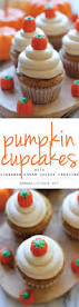 Pumpkin Cupcakes With Cinnamon Cream Cheese Frosting Damn Delicious
