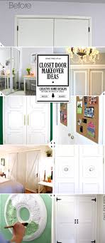Closet Door Design Diy Challenge Give Your Closet Doors A Makeover Ideas And