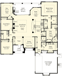 master on house plans 1st floor master suite den office library study split bedrooms