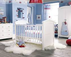 pleasant baby rooms decorating ideas with misty rose wall paint