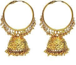 golden ear rings images Buy satyam jewellery nx satyamjewellerynx jpeg
