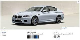 2012 bmw m5 visualizer catalog reveal exterior and interior and