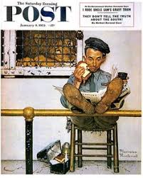 norman rockwell thanksgiving norman rockwell being thankful