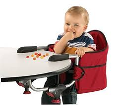 baby high chair that attaches to table amazon com chicco caddy hook on chair red table hook on booster