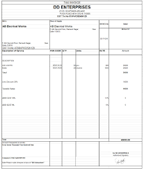 invoice formate templates franklinfire co