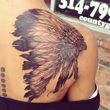 indian headdress tattoo on ribs indian headdress bobby ink tattoos