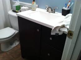 Glacier Bay Cabinet Doors by Glacier Bay Ventura 30 5 In W Bath Vanity In Java With Cultured