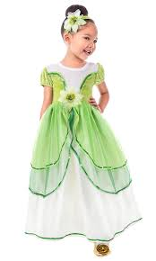 Frog Princess Tiana Replica Dress Up Costume Princess And The Frog Princess