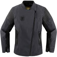 female motorcycle jackets icon 1000 tuscadero textile full zip street riding womens