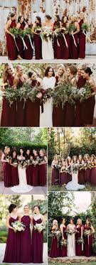 wedding ideas for fall 50 refined burgundy and marsala wedding color ideas for fall