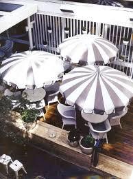 Blue And White Patio Umbrella Blue And White Striped Patio Umbrella The Patio Umbrellas
