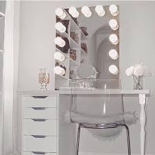The Vanity Room Such A Pretty Modern Room Compact Glam Station Featuring The