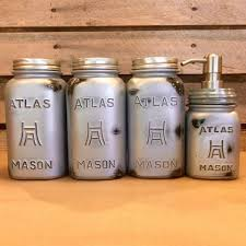 silver kitchen canisters rustic silver jar canister set industrial jar kitchen