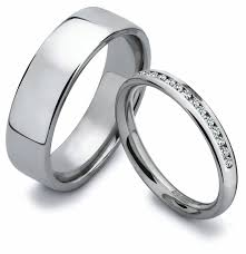 his and wedding rings jewelry rings bridal sets his hers pcs black ip stainless steel