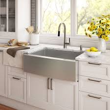 Farmers Kitchen Sink by Kraus Stainless Steel 29 75