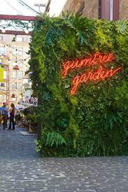 gumtree garden pop up bar by yellowtrace neon gardens and bar
