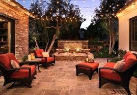 Outside Patio Lighting Ideas Mesmerizing Outdoor Patio Lights Outdoor Living Area With Patio