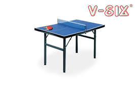 Foldable Ping Pong Table Install Folding Kids Table Tennis Table 12mm Table Thickness With