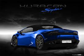 Lamborghini Gallardo Huracan - 2016 huracan lp610 4 spyder will have a soft top