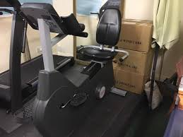 Armchair Exercise Bike Startrac Pro Recumbent Seated Exercise Bike In Hamilton South