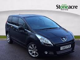 used peugeot 5008 1 6 hdi fap allure mpv 5dr diesel manual 135 g
