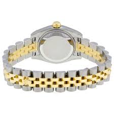 yellow gold bracelet with pearls images Rolex lady datejust 26 mother of pearl with 10 dial stainless jpg