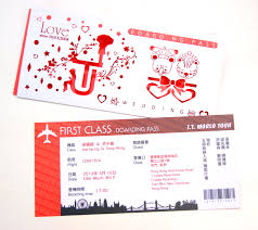 airline ticket invitations hummingbird card company blog