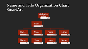 download organizational chart template 3 for free tidyform