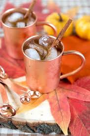 welcome fall with a pumpkin spice moscow mule moscow
