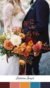 fall colors for weddings 10 beautifully autumnal bouquets for fall weddings neutral color